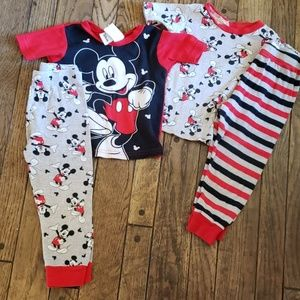 Bundle of 2 pajama sets, Mickey Mouse